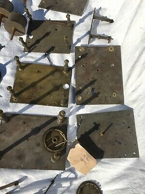 A Very Large Assortment Of Longcase Grandfather Clock Parts 9