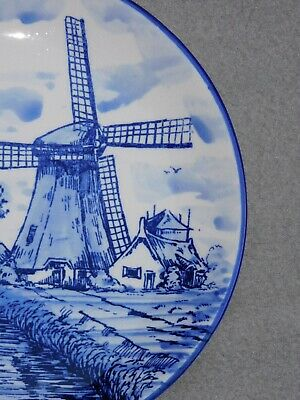 Assiette En Faience Eleska Holland A Decor De Moulin Diam 20 Cm 11M14 5