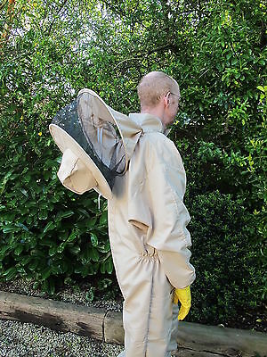 PREMIUM QUALITY Bee Suit Round Hat - Camel/Biscuit. All Sizes 2