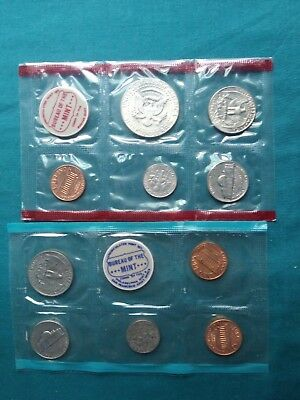 1969 S  U.S. MINT Uncirculated Coin Set Sealed with Envelope #222 5