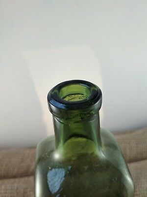 "Alte Apothekerflasche ""HAEMATICUM=GLAUSCH"" / old pharmacy bottle 9"