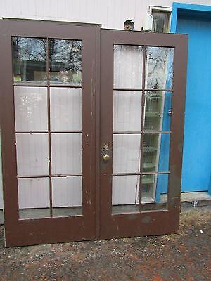 Vintage Entry Exterior Door Pull Handle Thumb Latch Set Locking 4