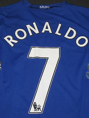 best sneakers fd245 8643c NIKE MANCHESTER UNITED Cristiano Ronaldo Long Sleeve Jersey Shirt Kit Trikot