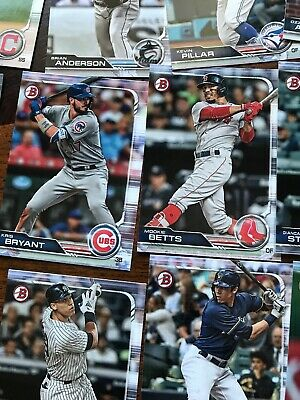 2019 Bowman Complete Base Set 1-100 Trout Aaron Judge Ohtani Acuna Baseball Card 11