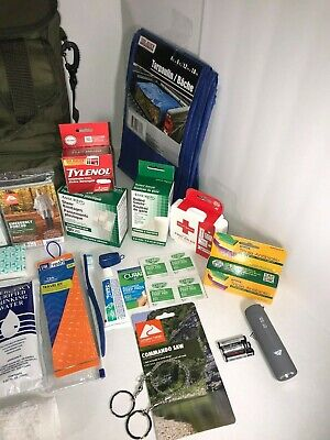Disaster Emergency Survival Kit Bug Out Bag Camping earthquake Hurricane 7
