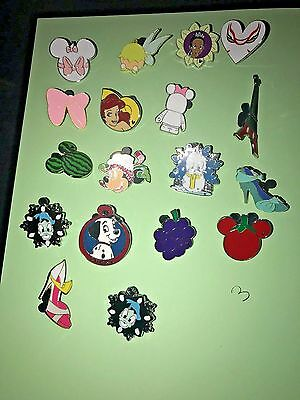 Disney Pin Trading Lot of 30 Assorted Pins NEW No Doubles 100% Trad-able  Disney 4