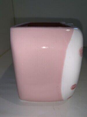 EUC Vintage Enesco Pink Baby Girl Nursery Planter Baby Shower Made In Japan
