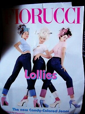 TROUSERS woman vintage 70's FIORUCCI tg.30-44 circa M made Italy NEW RARE 3
