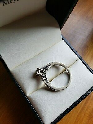 Fred Meyer Size 7 14k Wg 5 8ct Engagement Ring 14k Wg 1 4ct Wedding Ring 600 00 Picclick