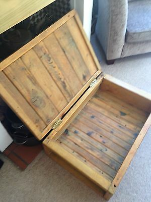 Vintage Pine Chest/crate 11