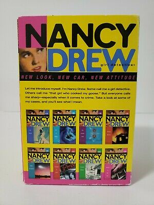 NANCY DREW Girl Detective book set #17-24 4