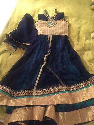 Indian Girls Lengha Dress Outfit 8-10 Years 7