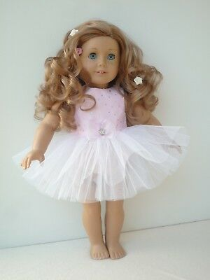American Girl Our Generation Pink Sparkle Ballet Tutu 18 Inch Doll Clothes 4