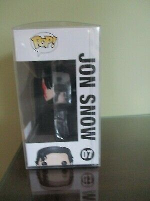 Funko Pop! Game of Thrones Bloody Jon Snow #07 Hot Topic With Protector 2