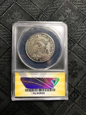 1836 O-105 R4 Capped Bust half dollar ANACS EF40 details 2