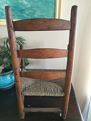 Early Antique Child's Chair 4