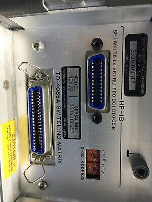 HP 4084B Switching Matrix Controller Hewlett Packard ID-AWW-7-4-006 10