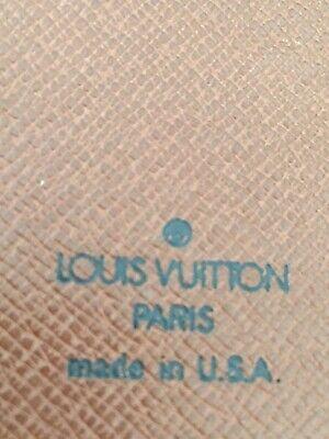 Louis Vuitton Mini Agenda Cover with Pencil Monogram Canvas 5