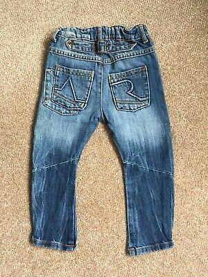Angel & Rocket Distressed Denim Blue Jeans, size 3 years. 2