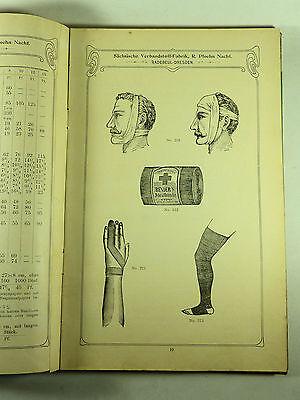 Buch Katalog Sächsische Verbandstoff Fabrik Dresden Radebeul Ploehn Von 1902 6