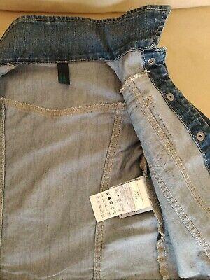Benetton Giacca jeans  100, ottime condizioni 3