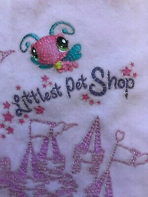 Felpa Bambina 8A Rosa Little Pet Shop 4