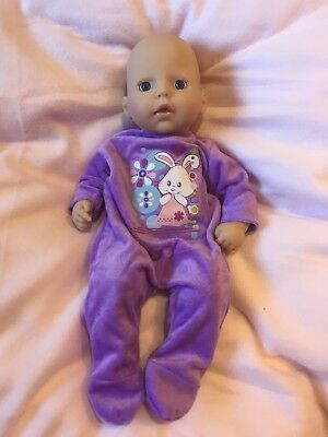 My First Baby Annabell Clothes Sleepsuits Rompers 8