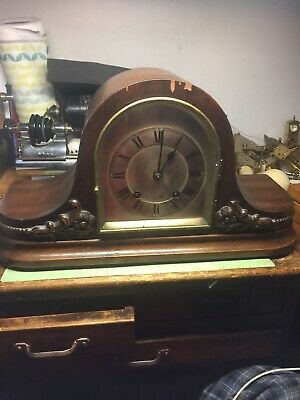 Vintage Mantel Clock by Winterhalder Hofmeier T/S Mantel Clock 2