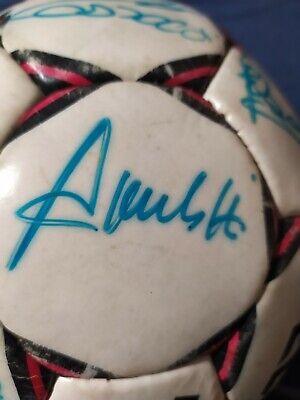 Pallone originale AC MILAN Select 1989/90 AUTOGRAFATO! 8