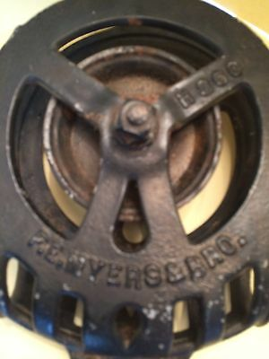 Vintage F.e. Myers & Bros. Barn Hay Pulley H360, Ashland, Ohio ~ Early, Fancy ~ 2
