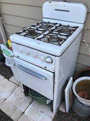 1 Of 2 Gaffers Sattler Antique 4 Burner Stove Oven