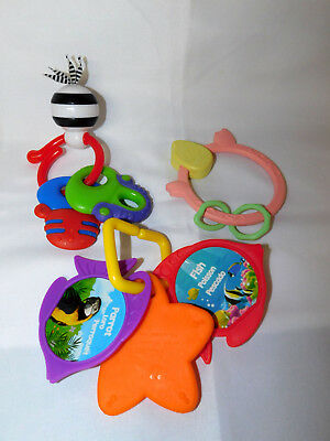 Infant Toy Lot of 14 Developmental Infant Toys Sensory Baby Teether Loveys 4