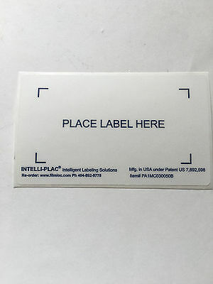 """Food Growers Label Placard Holders 4.5""""X6.5"""" for  Bins/Containers Intelli-Plac 5"""