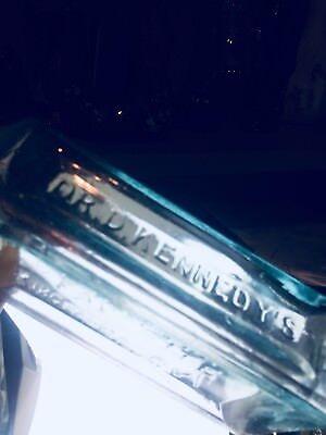 Quack Dr D Kennedys Favorite Remedy Kingston N.y. Apld Lip Hinge Mold Bottle 6