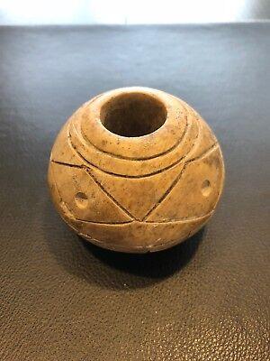 PRE COLUMBIAN- MACE HEAD, Chavin/ Moche culture weapon.Peru, Chavin/ Moche cult 3
