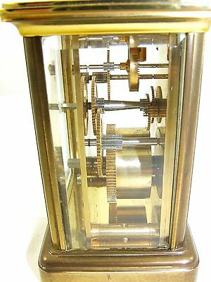 Wonderful Swiss Brass Carriage Clock : MATTHEW NORMAN LONDON SWISS MADE 10 • EUR 410,33