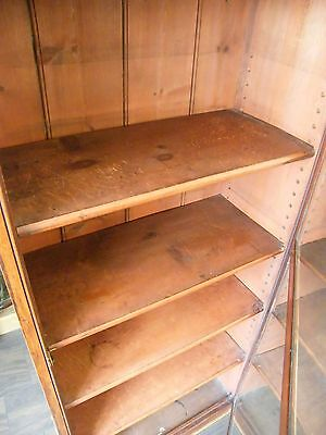 ANTIQUE CHEIMIST SHOP DISPLAY CABINET LIBRARY BOOKCASE COLLECTORS CABINT c1890 8