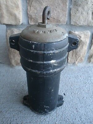 ANTIQUE  Fairbury Windmill Co. Fairbury, Neb. Cast Iron Pump Housing - Very Good 4