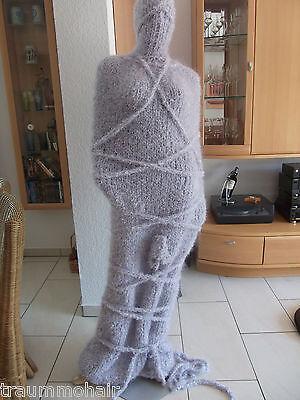 TRAUMMOHAIR Mohair Dress Tube Woolbag Balaclava Bondage 12m XXL scratchy 2kg NEU 12