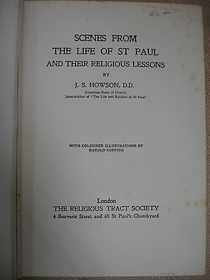 Scenes from the Life of St. Paul with letter signed by J.S. Howson 3