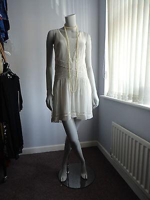 1920s Flapper Charleston Downton Gatsby Dress UK 6 8 10 12 14 16 NEW €49,99