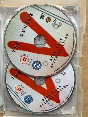 Marc Singer V Complète Série 1985 Classique Alien Sci-Fi GB DVD Coffret 4