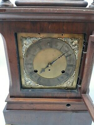 Antique 5 Coil Gong Westminster Chime Mantel Clock 1896 New Haven 9