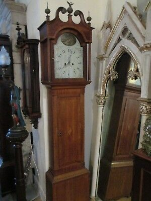 John Thomas Of Worcester 8 Day Grandfather Clock 2