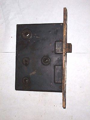 Antique H&D Mfg Co. Eastlake Era Entry Locks With Thumbturn Option. 3