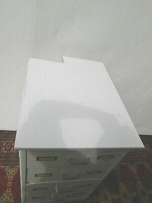 Apothekerschrank Arztkommode 4 Schubladen Apothekerkommode Kommode Schrank weiß 5