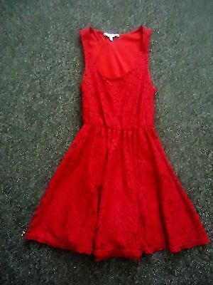 New Look red Lace Cami Dress for Women Online Shopping in Dubai, Abu Dhabi, UAE - NEAT60XIP - Free Next Day Delivery day Exchange, Cash On Delivery.