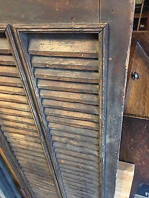 Early Saloon 1880s Swing Door with Spring Loaded Hinge Antique Old Rare Bar