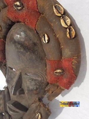 EXTRAVAGANT Dan Gioh Ceremonial Mask Figure Sculpture Statue Fine African Art 8