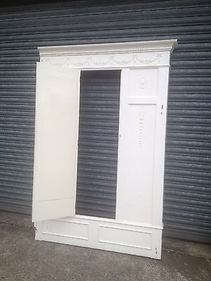 Victorian Fitted Wardrobe Fascade Mirrored Door Matching Fireplace Available 7